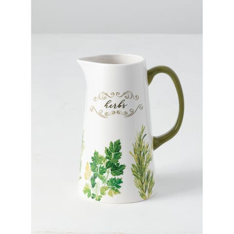 Herb Pitcher