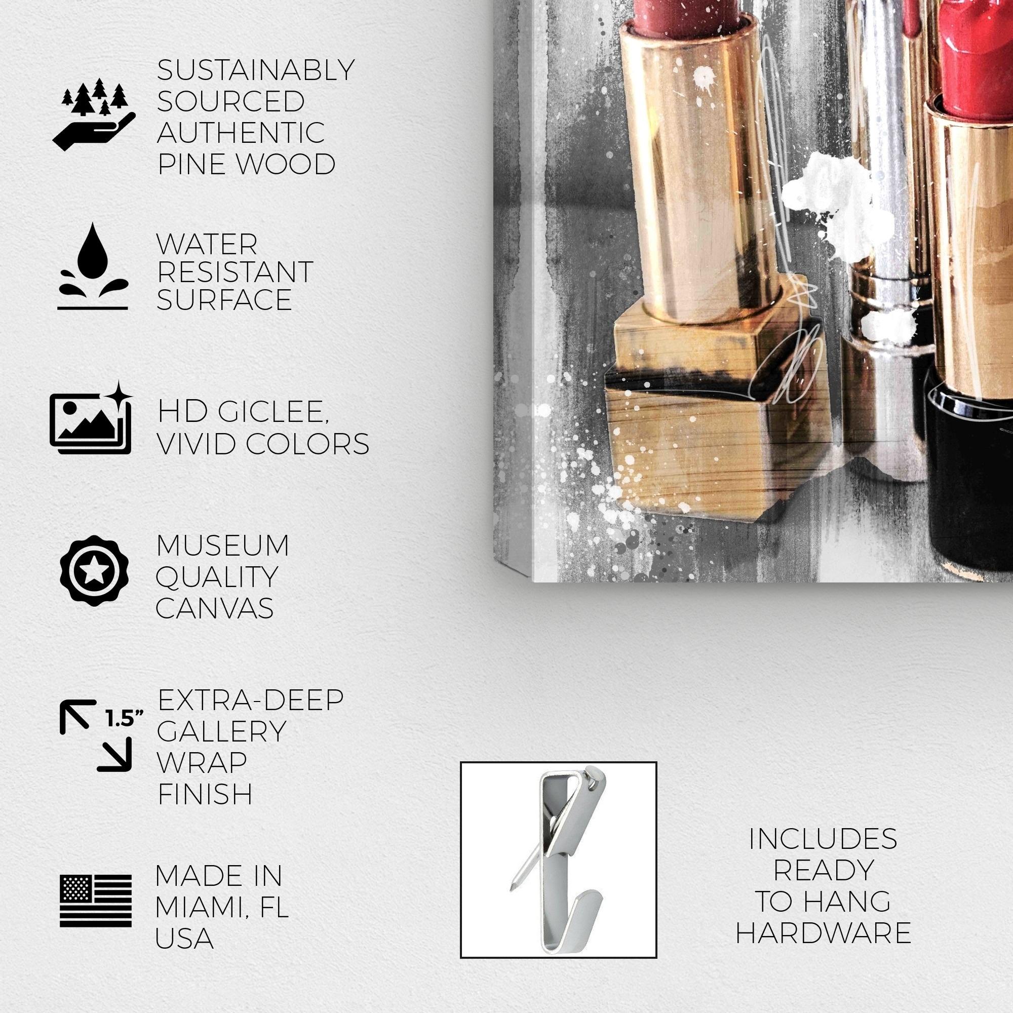 Makeup Artist Canvas Wraps