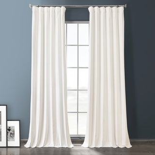 Link to Exclusive Fabrics Plush Velvet Hotel Blackout Curtain Similar Items in As Is
