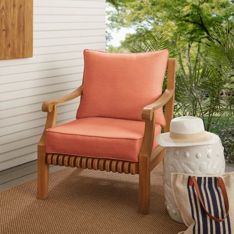 Coral Deep Seating Corded Chair Pillow and Cushion Set by Havenside Home