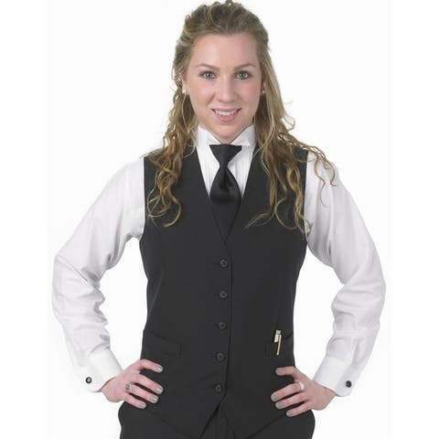 Henry Segal Women's Tailored Uniform Extended Basic Vest