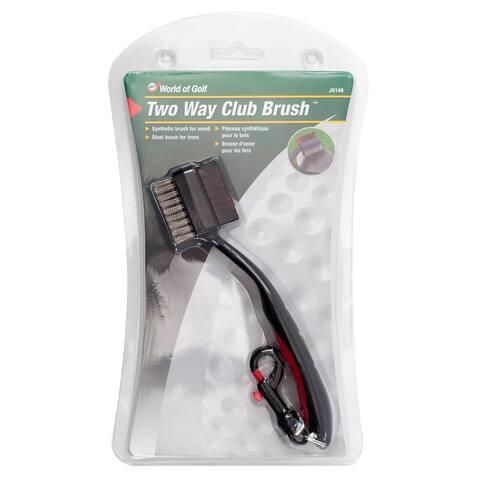 Two-Way Club Brush