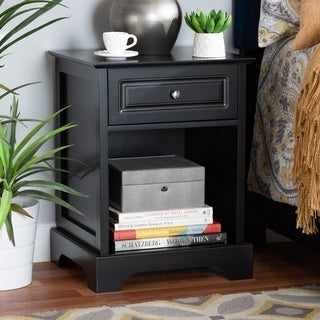 Chase Modern Transitional 1-Drawer Nightstand