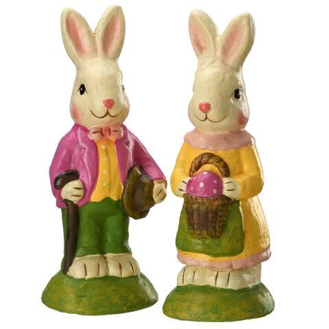 "9"" Bunny Couple"