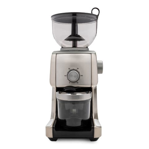 "ChefWave Bonne Conical Burr Coffee Grinder with 16 Grind Settings - 14"" x 6"" x 8"""