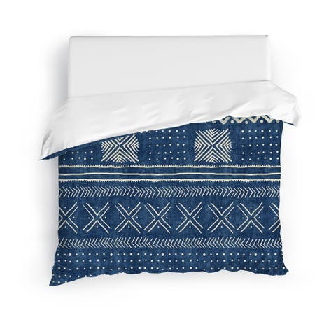 INDIGO NOVA Duvet Cover By Kavka Designs
