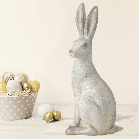 """Resin Sitting Bunny 13.5"""""""