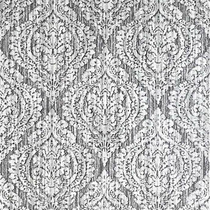 Shop Wallpaper White Gray Textured Ogree Diamond Damask Rusted
