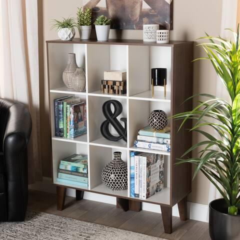 Carson Carrington Varmo Modern and Contemporary 9-shelf Bookcase