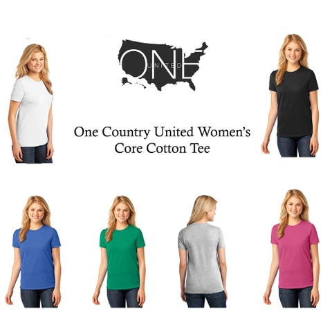 One Country United Women's Core Cotton Tee