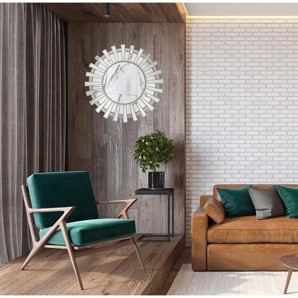 Hanging Wall Geometric Decorative Mirror Mirror Boho
