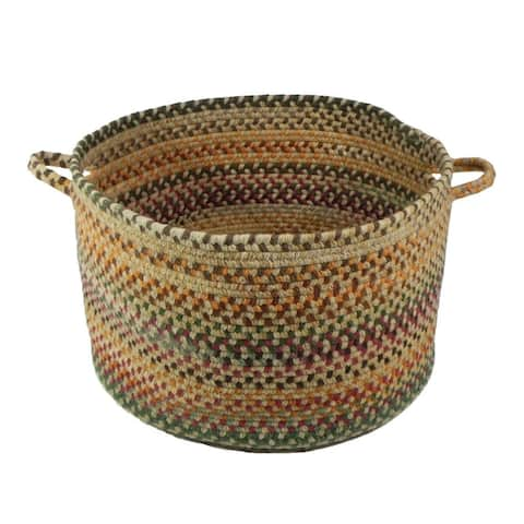 Sherwood Forest Braided Basket