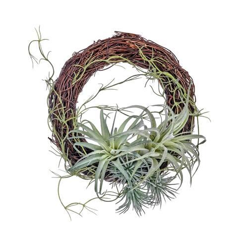 """Plast & Twig Airfern Wreath 9"""""""