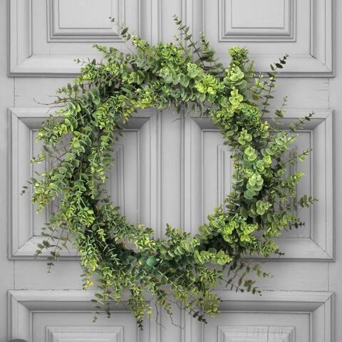 """Mature Eucalyptus Wreath 30"""""""