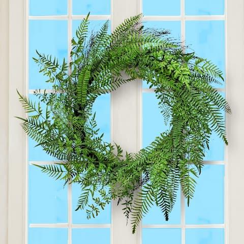 """Fern Wreath 36"""""""