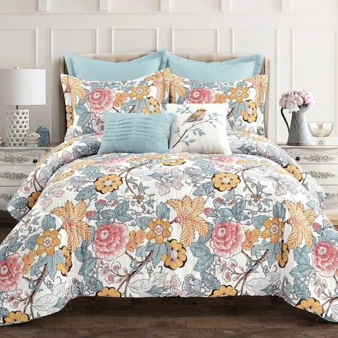 Lush Decor Sydney 7 Piece Comforter Set