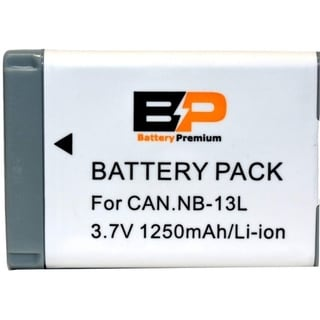 Link to BP Power NB-13L Battery for Canon PowerShot G1 X Mark III, G5 X, G7 X, G7 X Mark II, G9 X, G9 X Mark II, SX620 HS,... Similar Items in Cell Phone Accessories