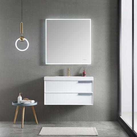Luxury Vanity With LED Mirror