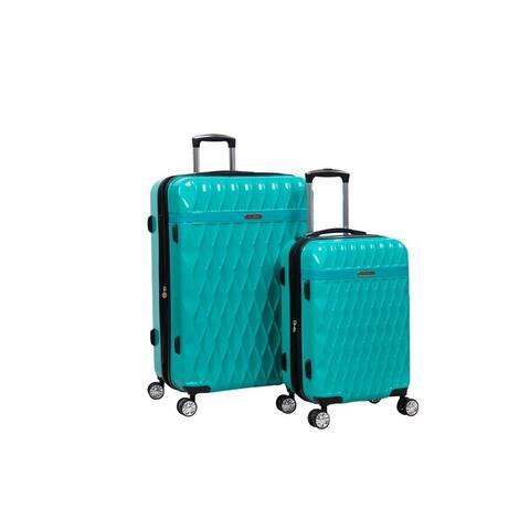 Kathy Ireland Kelly 2-Piece Hardside Luggage Set