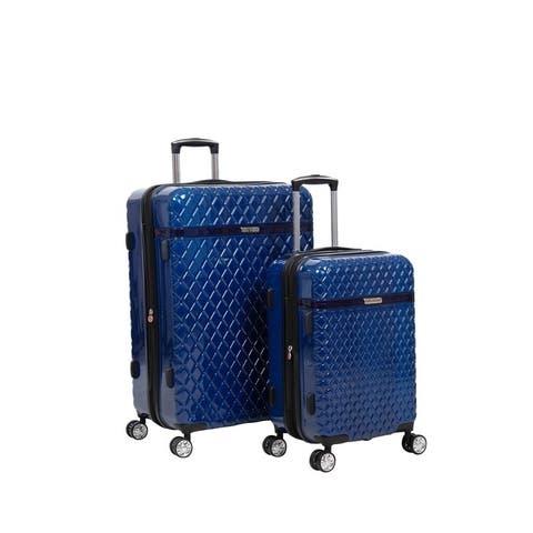 Kathy Ireland Yasmine 2-Piece Hardside Luggage Set
