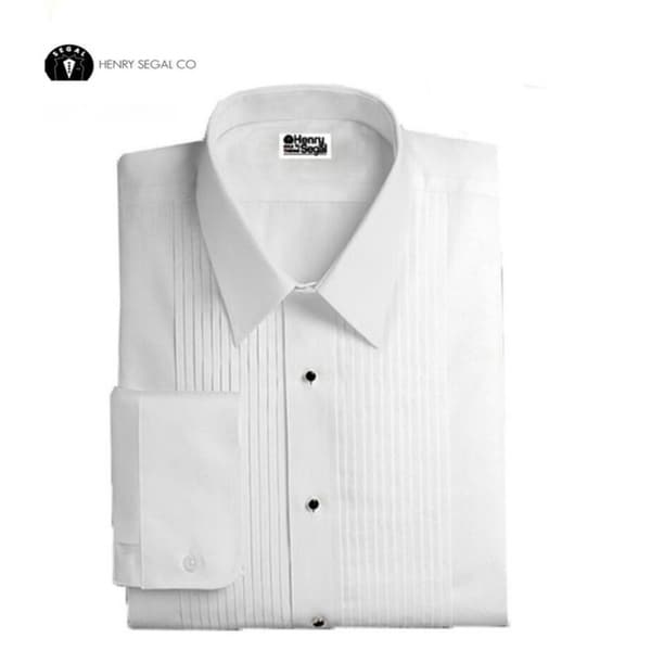 Laydown Collar Tuxedo Shirt 18/18.5 Neck 36/37 Sleeve