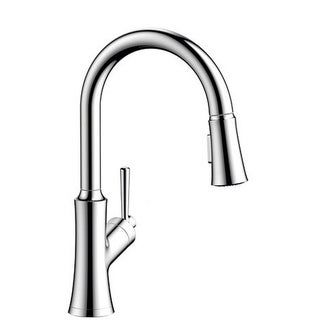 Link to Hansgrohe Joleena 1.75 GPM 2-Spray Pull-Down HighArc Kitchen Faucet Similar Items in Faucets