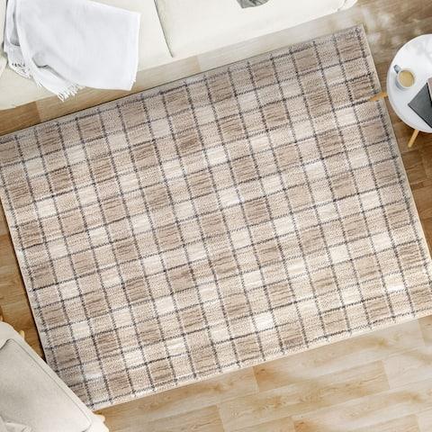 Orian Rugs American Heritage Textile Plaid