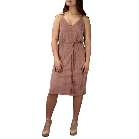 Vintage Sexy Cocktail Party Midi Spaghetti Strap Boho Dress