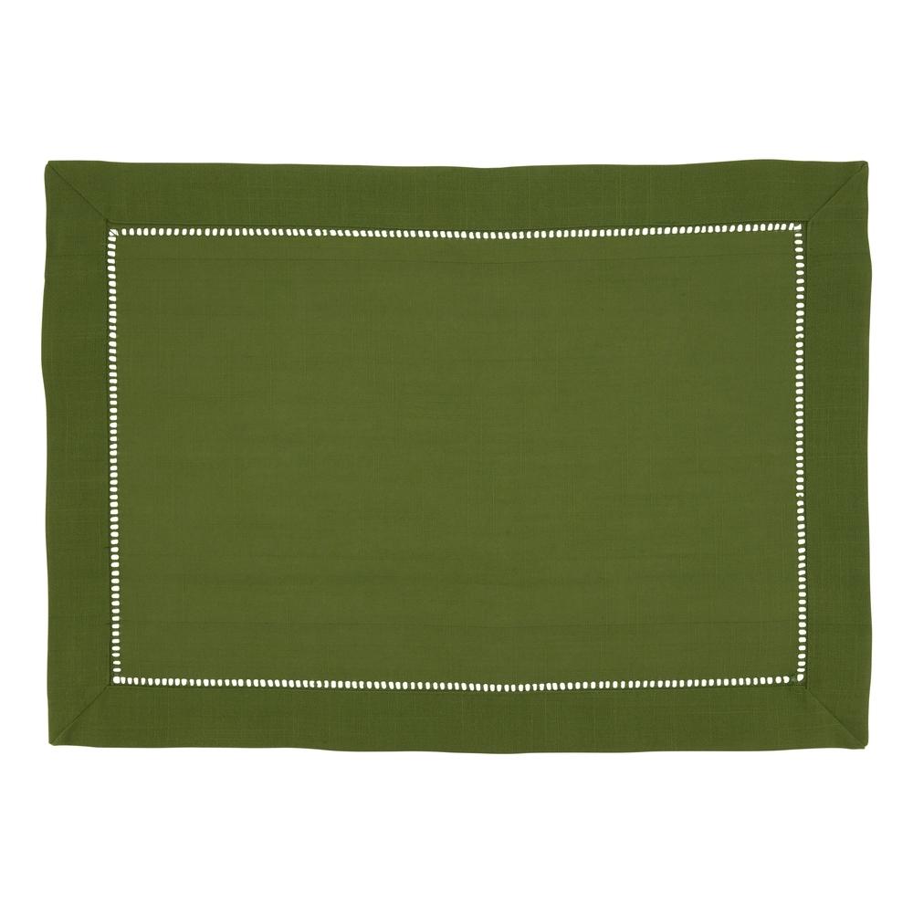 Shop Classic Hemstitch Border Placemat (Set of 12) - 30779333