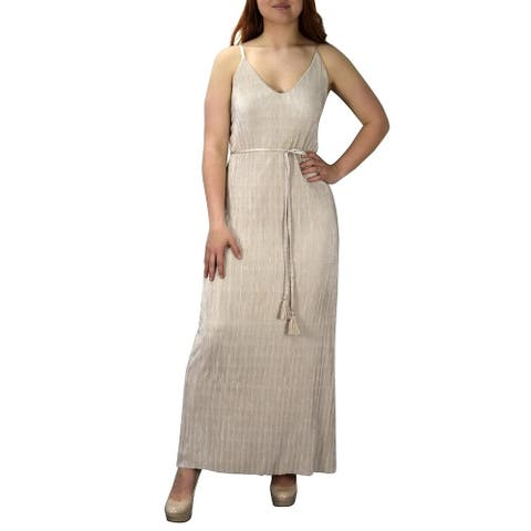 Women Vintage Cocktail Party Maxi Dress Spaghetti Strap Boho Dress