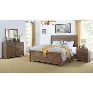 Seville Smokey Caramel Storage 4-Piece Bedroom Set by Greyson Living