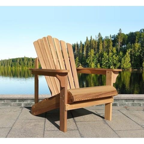 Riverside Adirondack Chair, Western Red Cedar