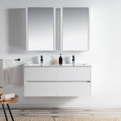 Luxury Wall-Mounted Vanity Set