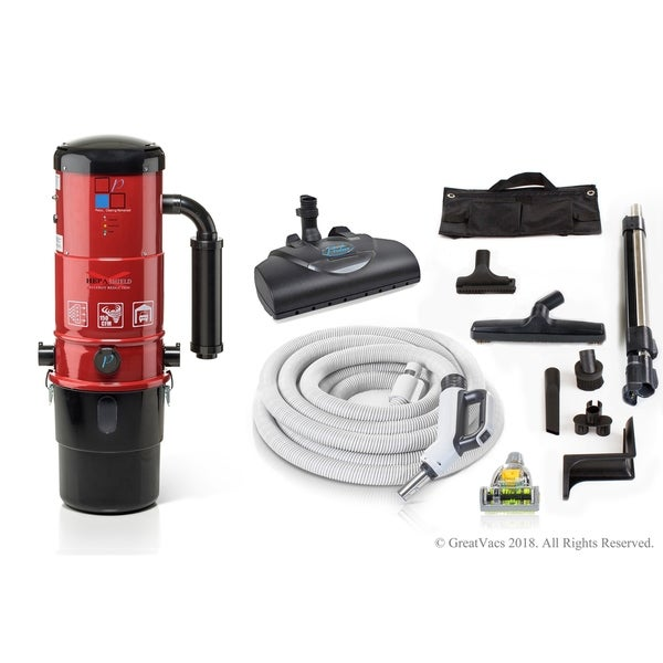 Prolux CV12000 Central Vacuum Unit System with Prolux Power Nozzle Kit and 25 Year Warranty. Opens flyout.