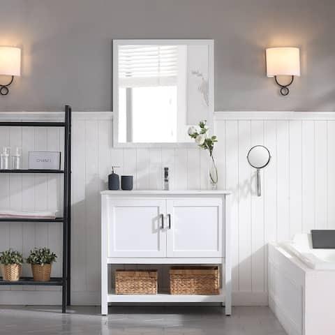 Luxury Freestanding Vanity Set