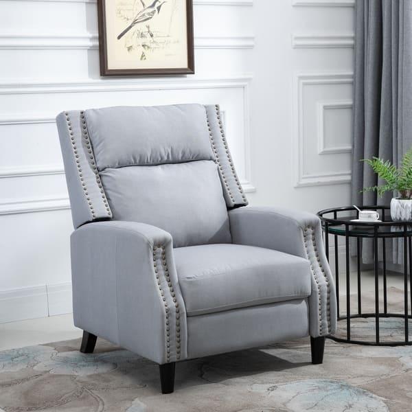 Homcom Reclining Sofa Chair Padded