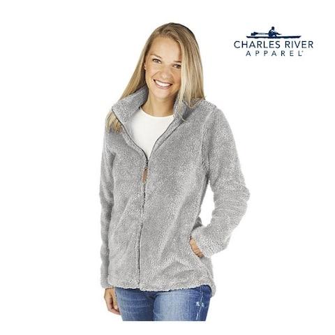 Women's Fleece Jacket Size XS Light Grey