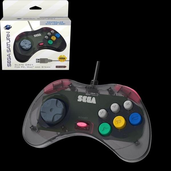 SEGA Saturn Control Pad (USB Port). Opens flyout.