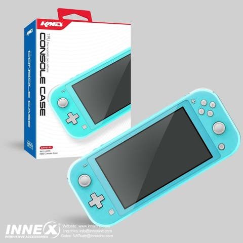 KMD Protective TPU Case for Nintendo Switch Lite, Clear