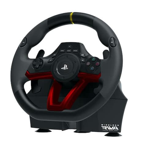 Hori PS4/PS3/PC Wireless Racing Wheel Apex - Black
