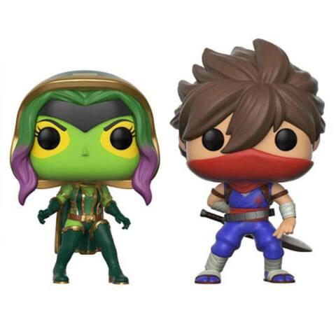 POP - Marvel vs. Com 2Pk - Gamora vs. Strider