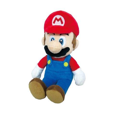 """Super Mario - Mario 10"""" Plush - Red"""