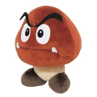 "Super Mario - Goomba 6"" Plush - Brown"
