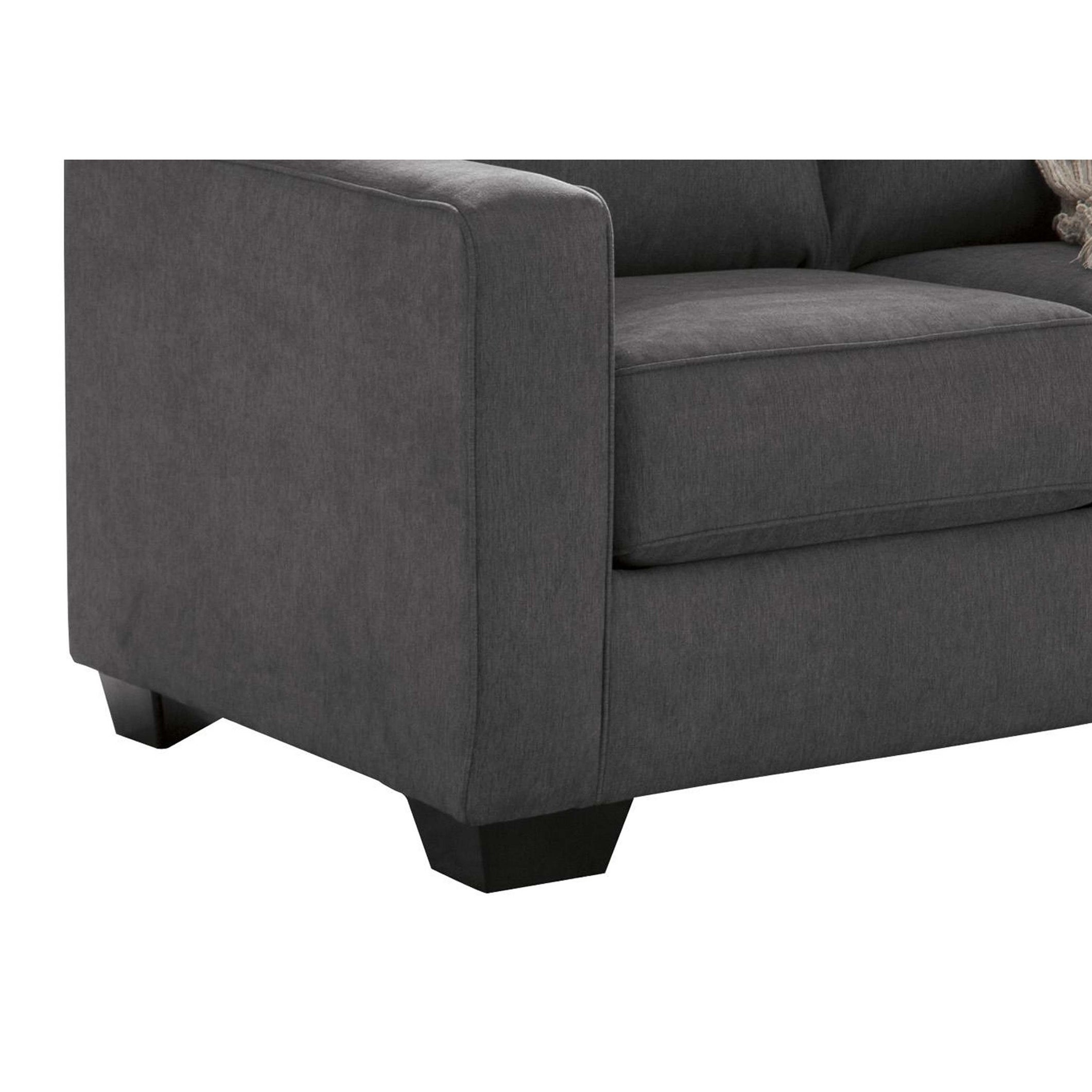 - Shop Fabric Upholstered Twin Sleeper Sofa With Tapered Legs