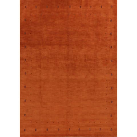 "Decorative Contemporary Gabbeh Oriental Area Rug Handmade Carpet - 8'1"" x 11'3"""