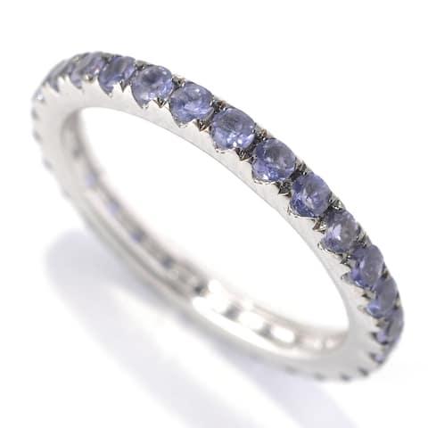 925 Sterling Silver Iolite Ring