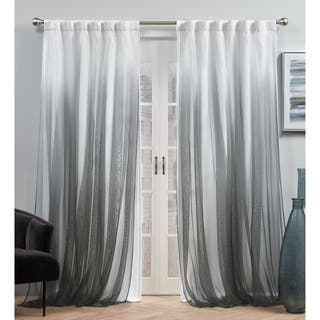 ATI Home Crescendo Lined Blackout Hidden Tab Curtain Panel Pair