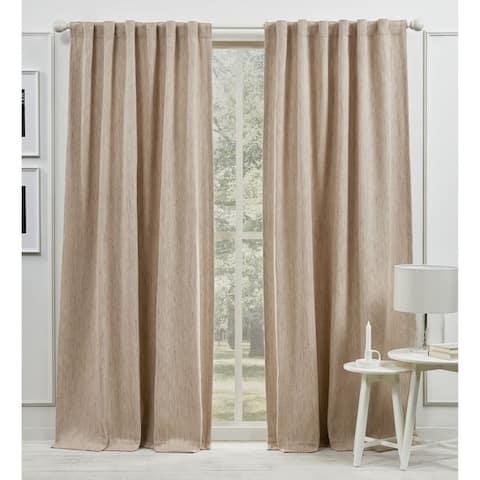 Lauren Ralph Lauren Palisades Room Darkening Back Tab Rod Pocket Curtain Panel