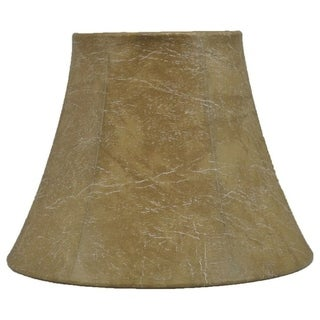 """Link to Faux Leather Bell Lampshade, 9"""" to 16"""" Bottom Size Similar Items in Lamp Shades"""