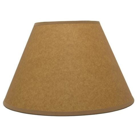 """Coolie Lamp Shade, Oil Paper, 12"""" to 14"""" Bottom Size"""